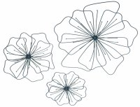 Floral Metal Wall Art Decorations: Beautiful and Elegant