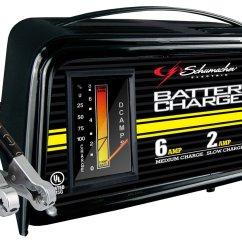 6v Rv Battery Wiring Diagram Liver Panel Charger 12v Volt Amp Car Truck Motorcycle