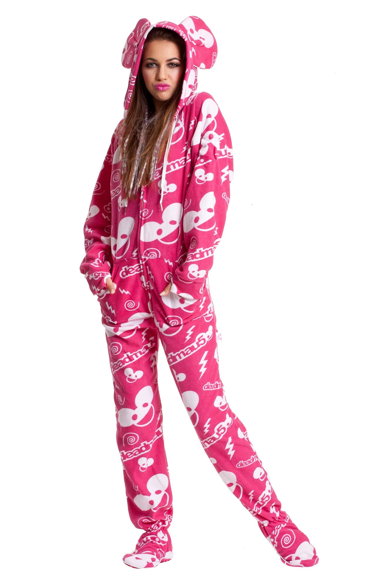 Deadmau5 Pink Adult onesie
