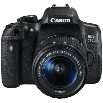 Canon EOS 750D 24.2MP Digital SLR Camera