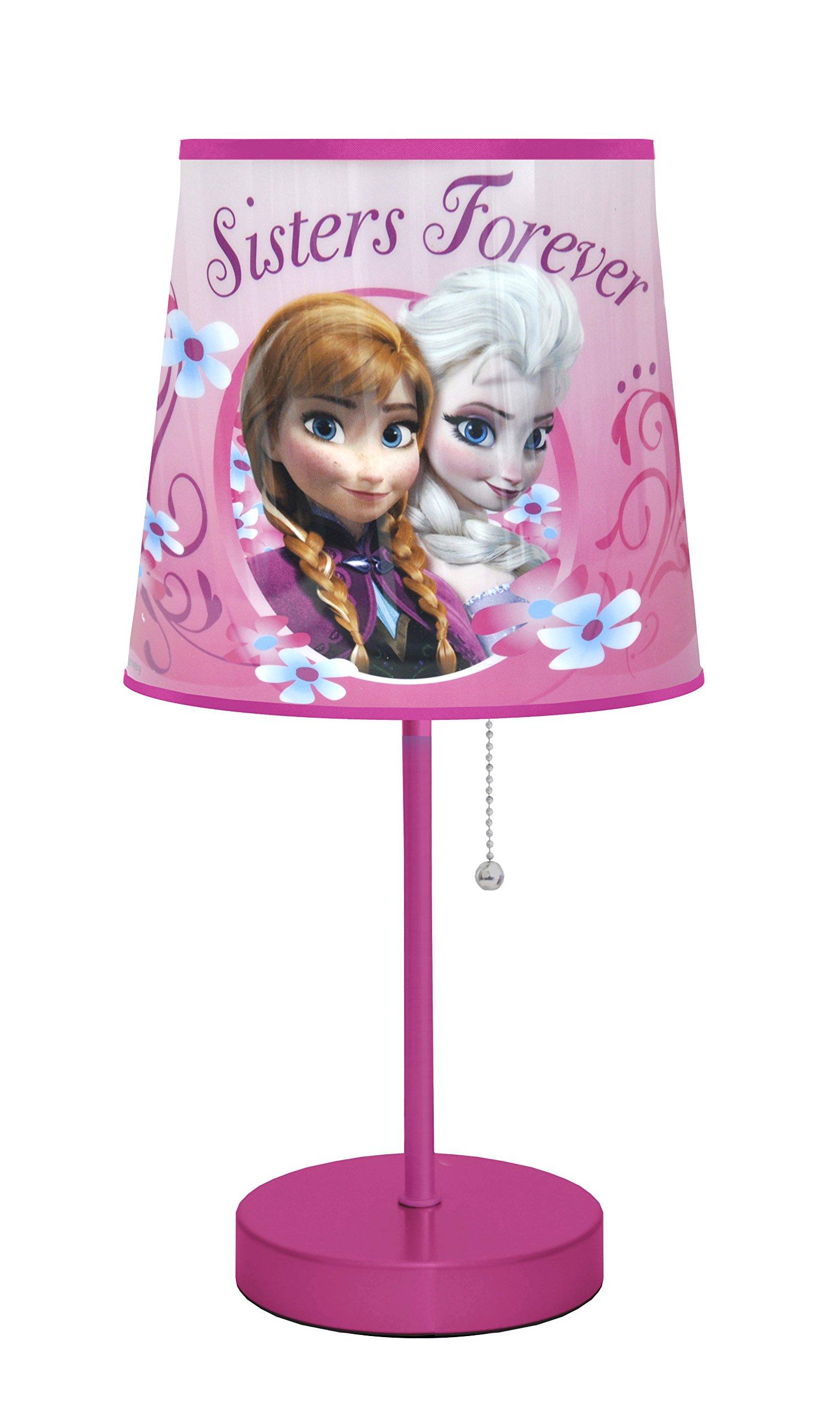 Disney Frozen Pink Table Lamp
