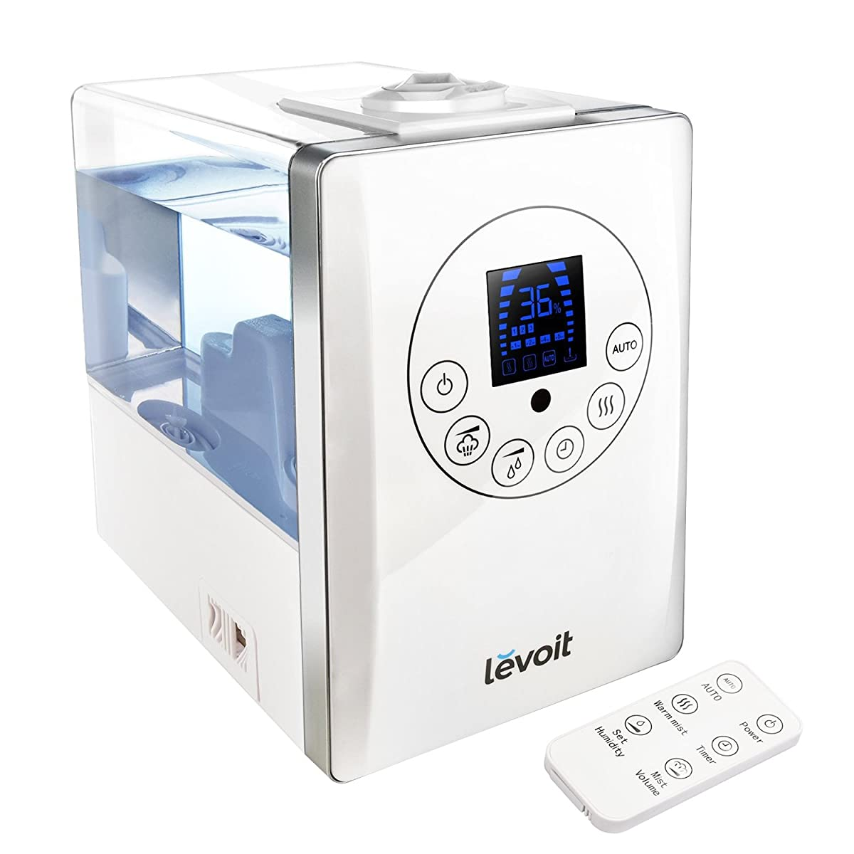 hight resolution of levoit cool amp warm mist humidifier ultrasonic air vaporizer remote control 6l 1 6