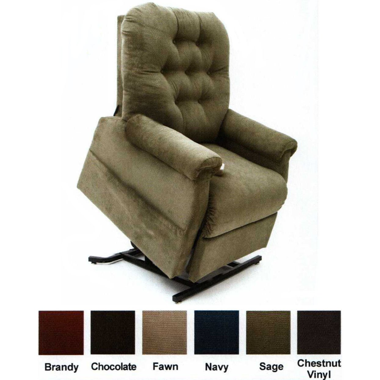motorized easy chair jessica charles chairs ottomans mega motion lift comfort recliner lc 200 3