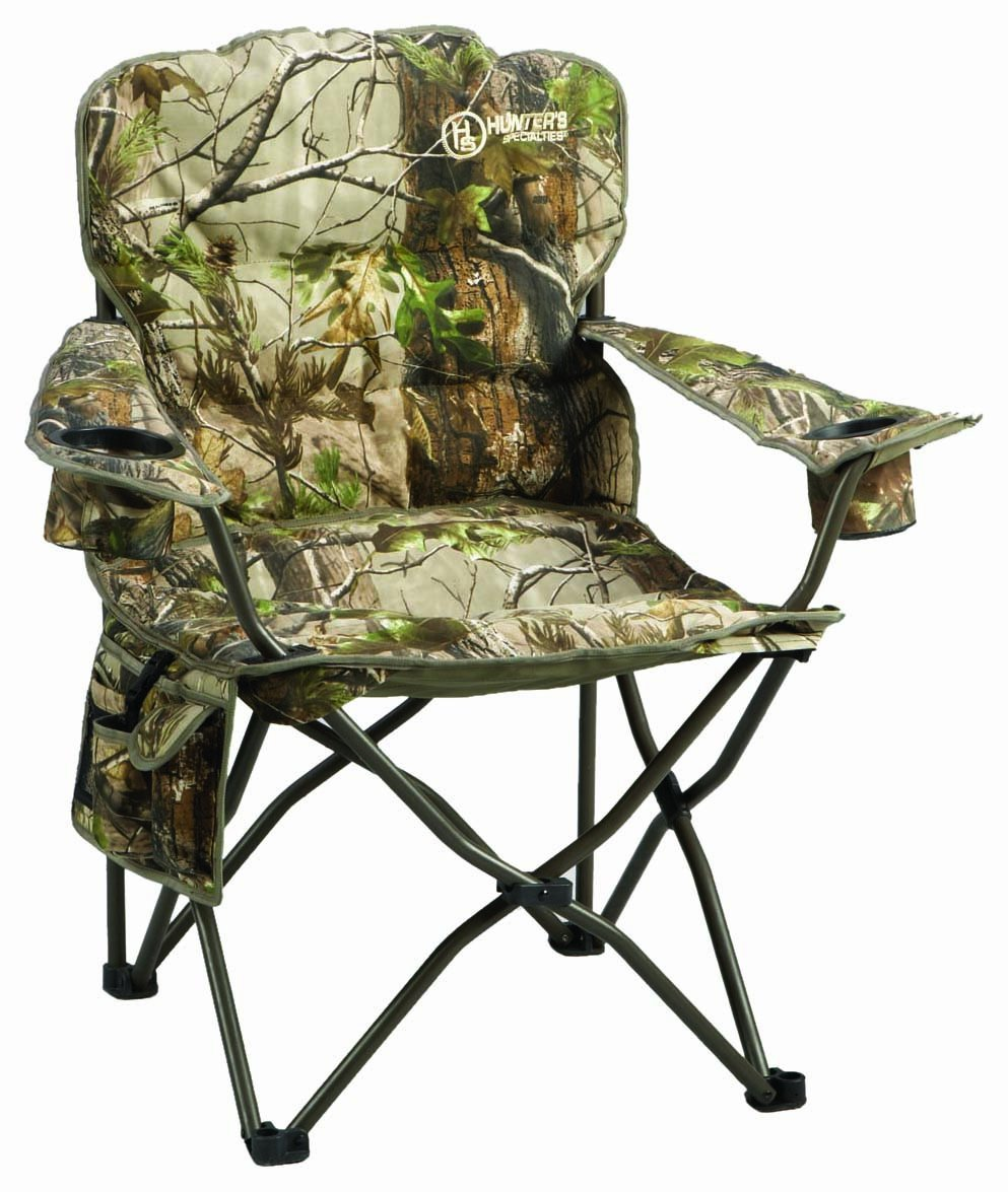 Folding Chair Hunters Specialties Deluxe Pillow Camo