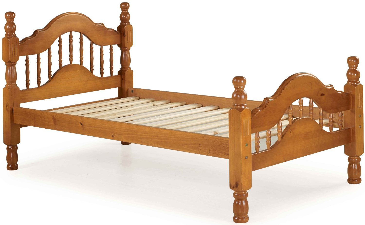 100 Solid Wood Dover Twin Platform Bed 2 Colors EBay