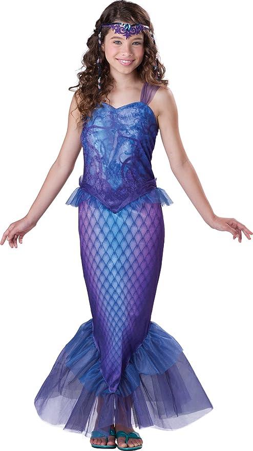 InCharacter Costumes Tween Mysterious Mermaid Costume, Blue/Purple, Large