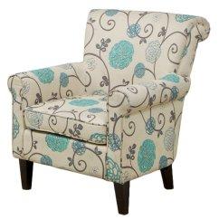 Blue Floral Chair Malibu Pilates Assembly Instructions Roseville Club Furniturendecor