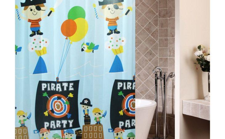 wallpaper hd pirate bathroom decor for kids of mobile full pics best top kids shower curtain