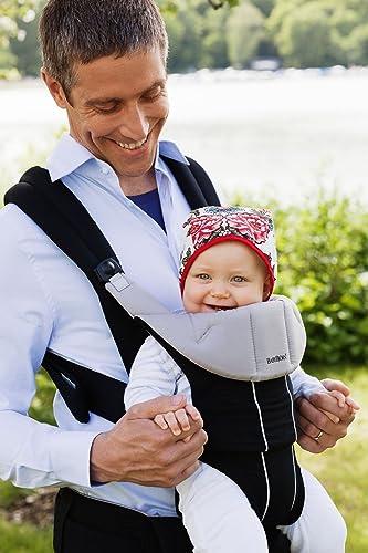 BABYBJORN Comfort Carrier, Black, Organic