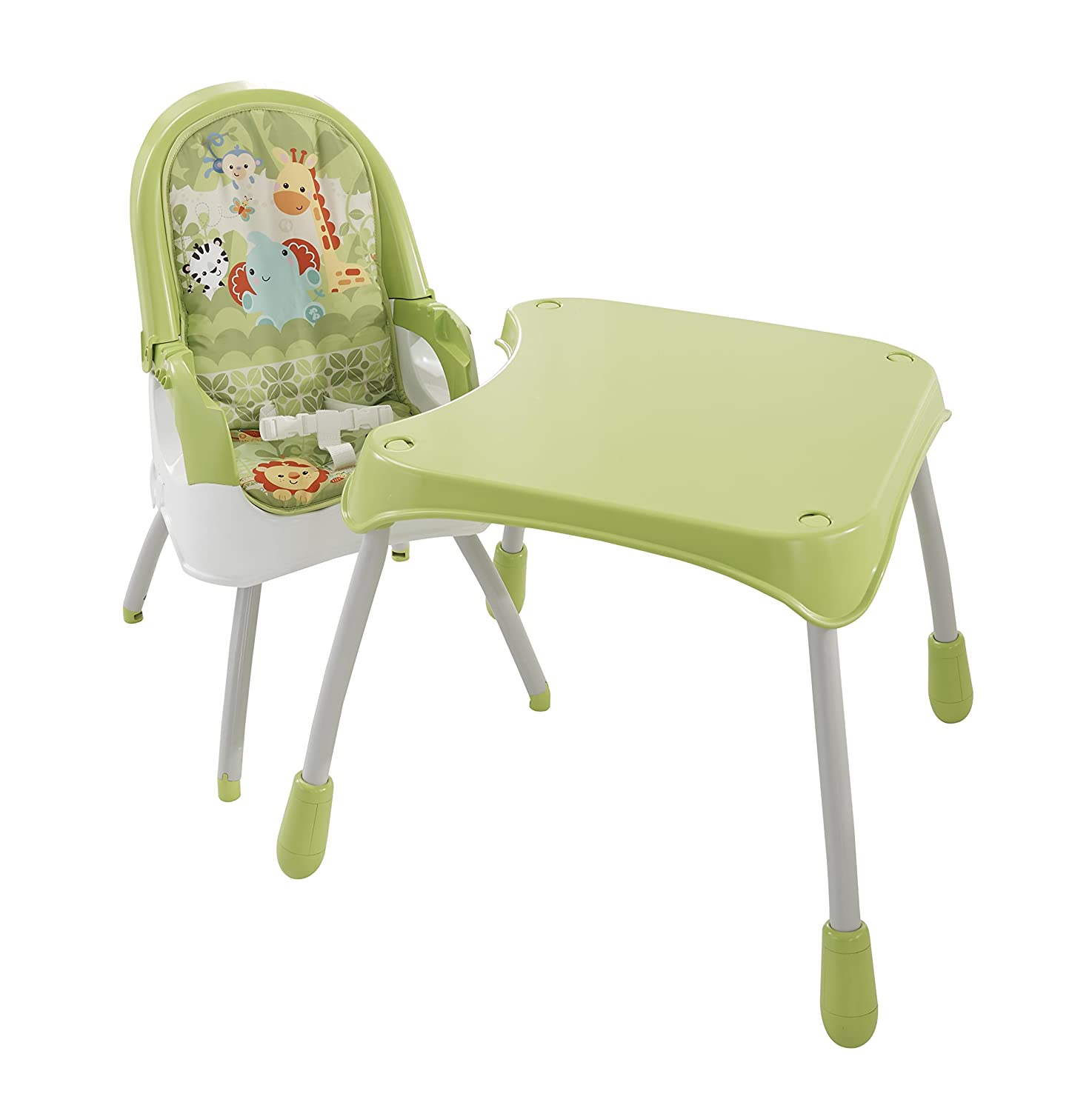 fisher price kids table and chairs poly resin rocking 4 in 1 high chair green best home