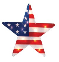 Fourth of July Lighted Window Decorations | Fourth Of July ...