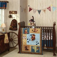 Lambs and Ivy Giddy Up Cowboy Baby Bedding - Baby Bedding ...