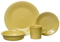 4-Piece Place Setting Dinnerware China Dish Set Dishwasher ...