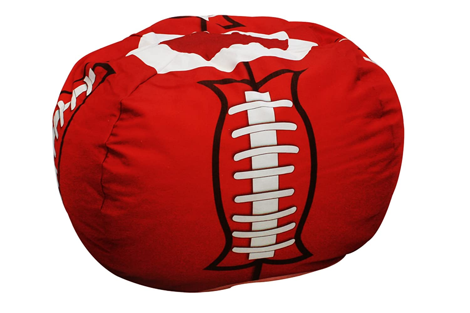 football bean bag chair unique covers wedding newco kids furniture collection groovy gear