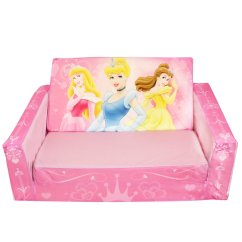 Disney Princess Flip Out Sofa Dfs Fling Bed Review Marshmallow Fun Furniture Open With Slumber