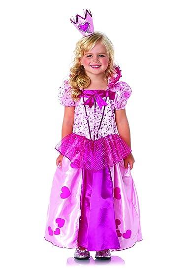 Leg Avenue Children's Sweetheart Princess Costume, Pink, X-Small, Pink, X-Small