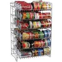 Canned Food Storage Rack Organizer Space Saving Cans Shelf ...