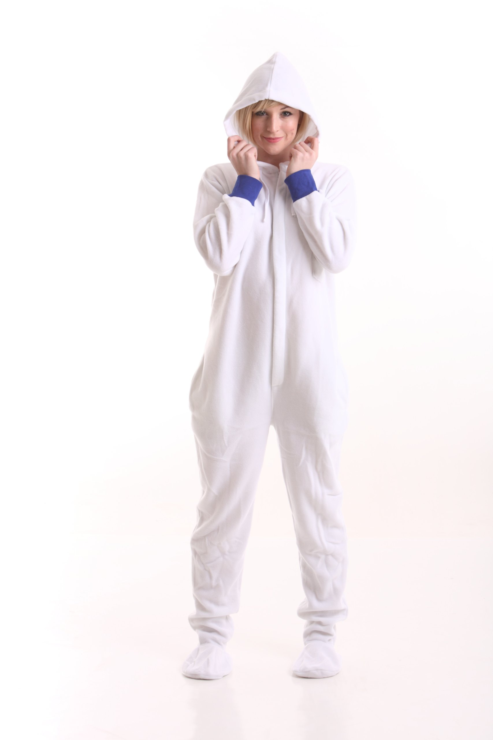 Funzee Footed Pajamas Adult Ones Piece Jumpsuit Playsuit XS-XXL (Size by Height)