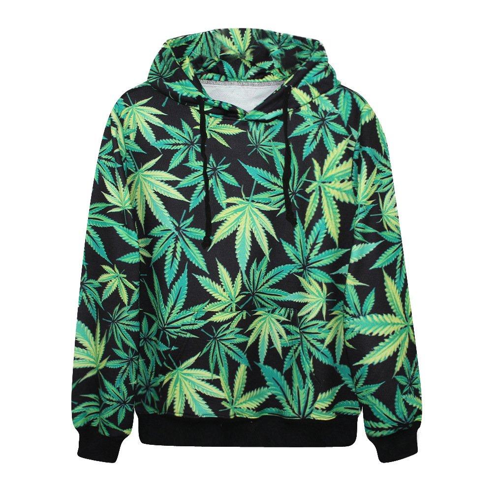 Cannabis Leaf Casual Hoodie