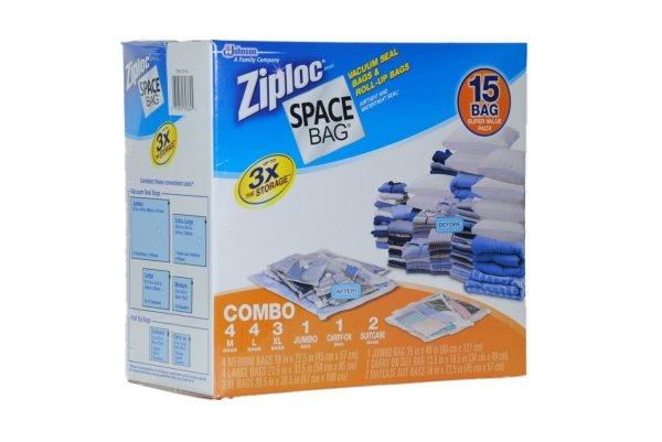Ziploc Vacuum Space Bag Savers