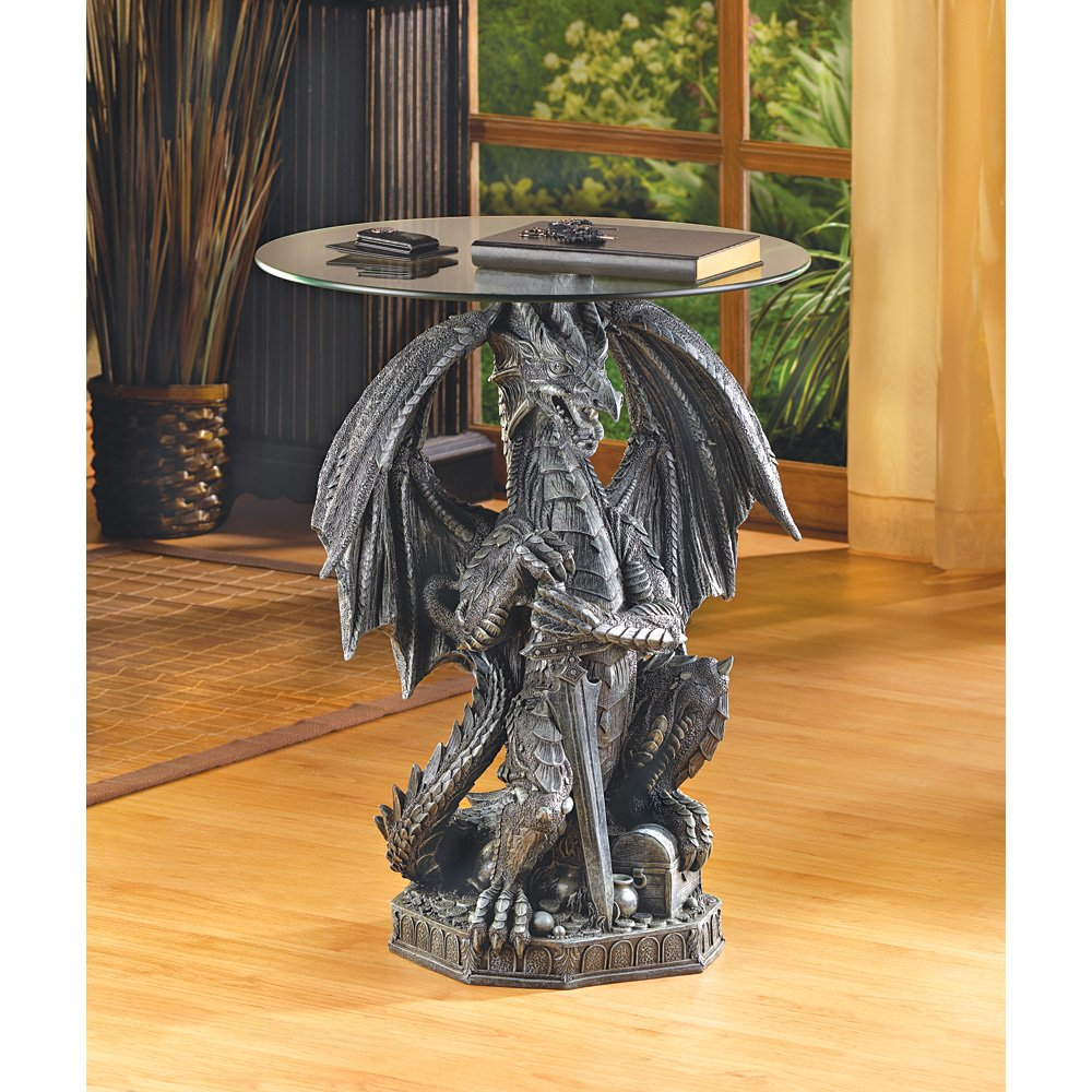 Mesmerizing Dragon Tables For Gothic Decoration