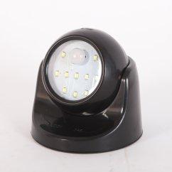 Motion Sensor Phone Jack Activated Cordless Pir Light Home Garden