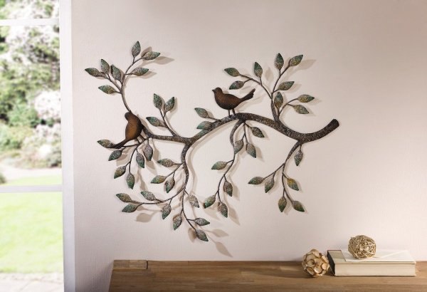 Flying Birds Metal Wall Art Beautiful