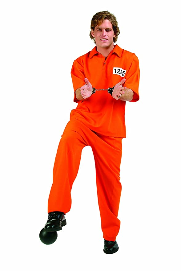 RG Costumes Not Guilty, Orange, One Size