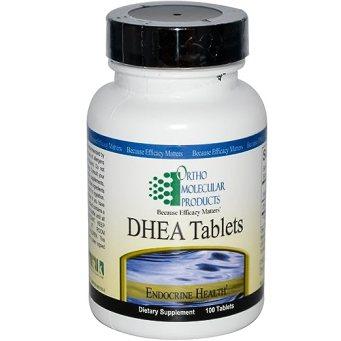 Ortho Molecular - DHEA 5 Mg Tablets - 100 Tabs