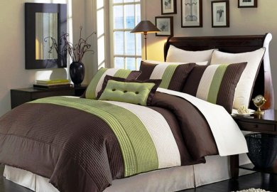 Brown And Green Bedding Sets