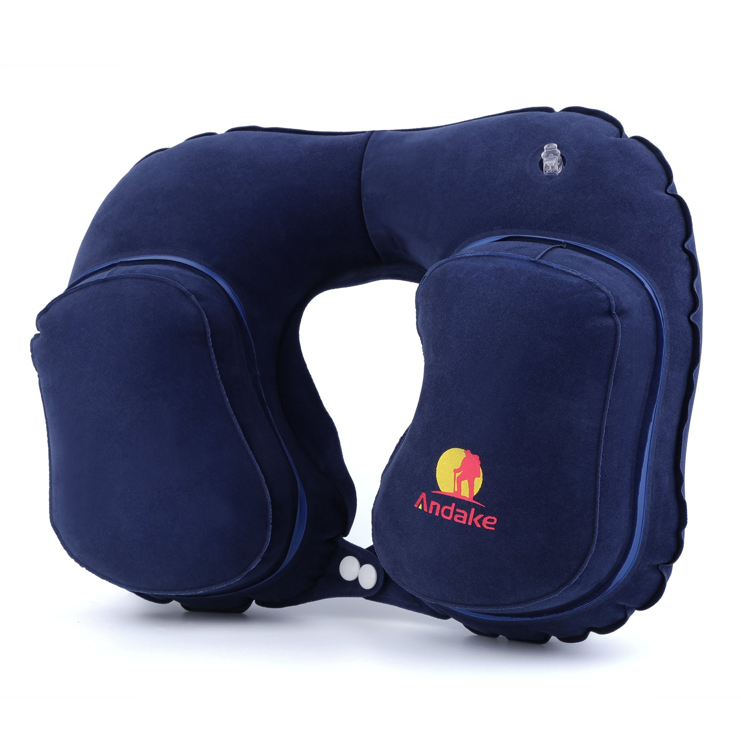 Andake Travel Pillow Neck Inflatable Pillow Best for Your