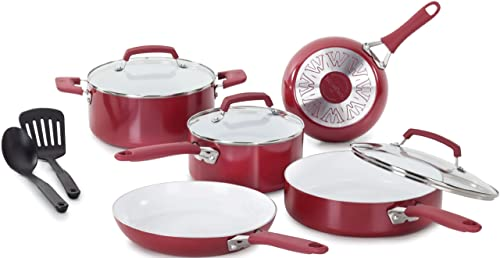 WearEver C943SA Nonstick Ceramic Cookware set 10-Piece