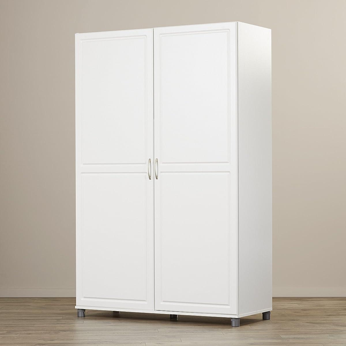 Solid Closet Storage Wardrobe Armoire Cabinet Bedroom