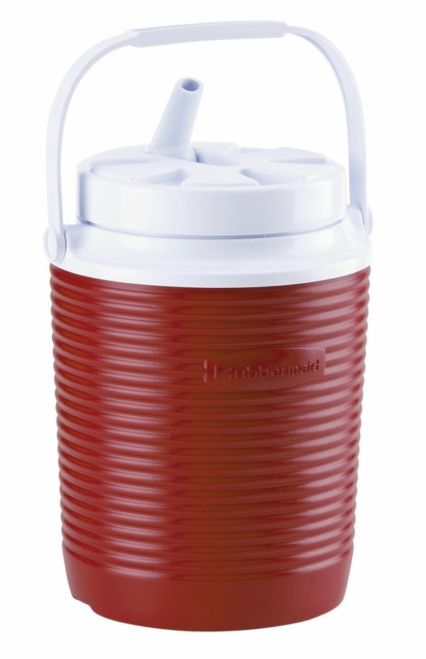 Rubbermaid Victory Jug Water Cooler 1-gallon Red