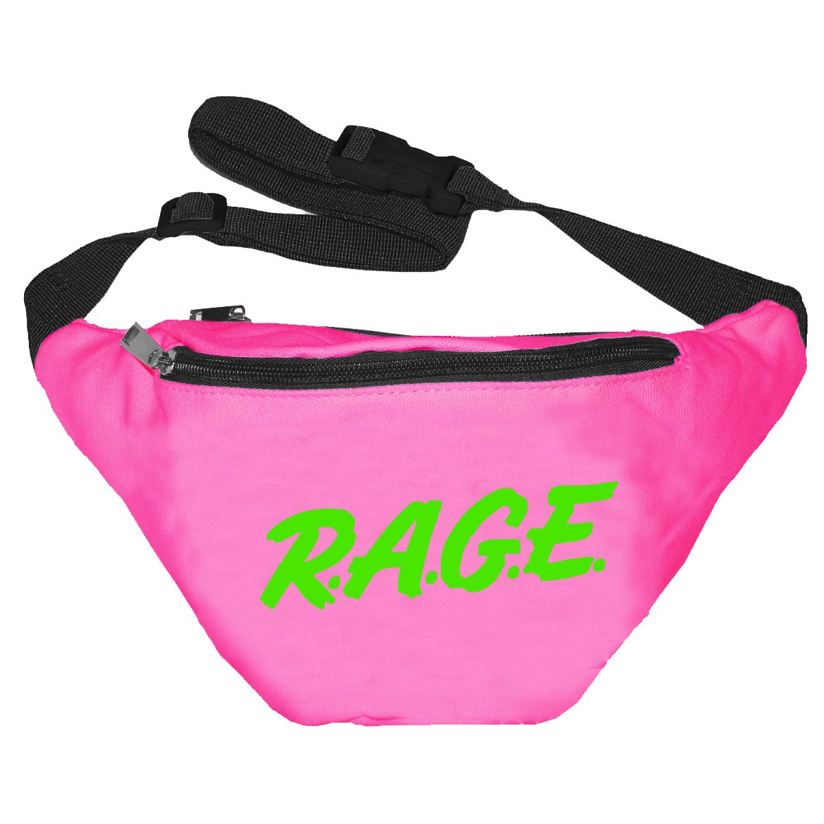 Funny Guy Mugs Rage Pink Fanny Pack