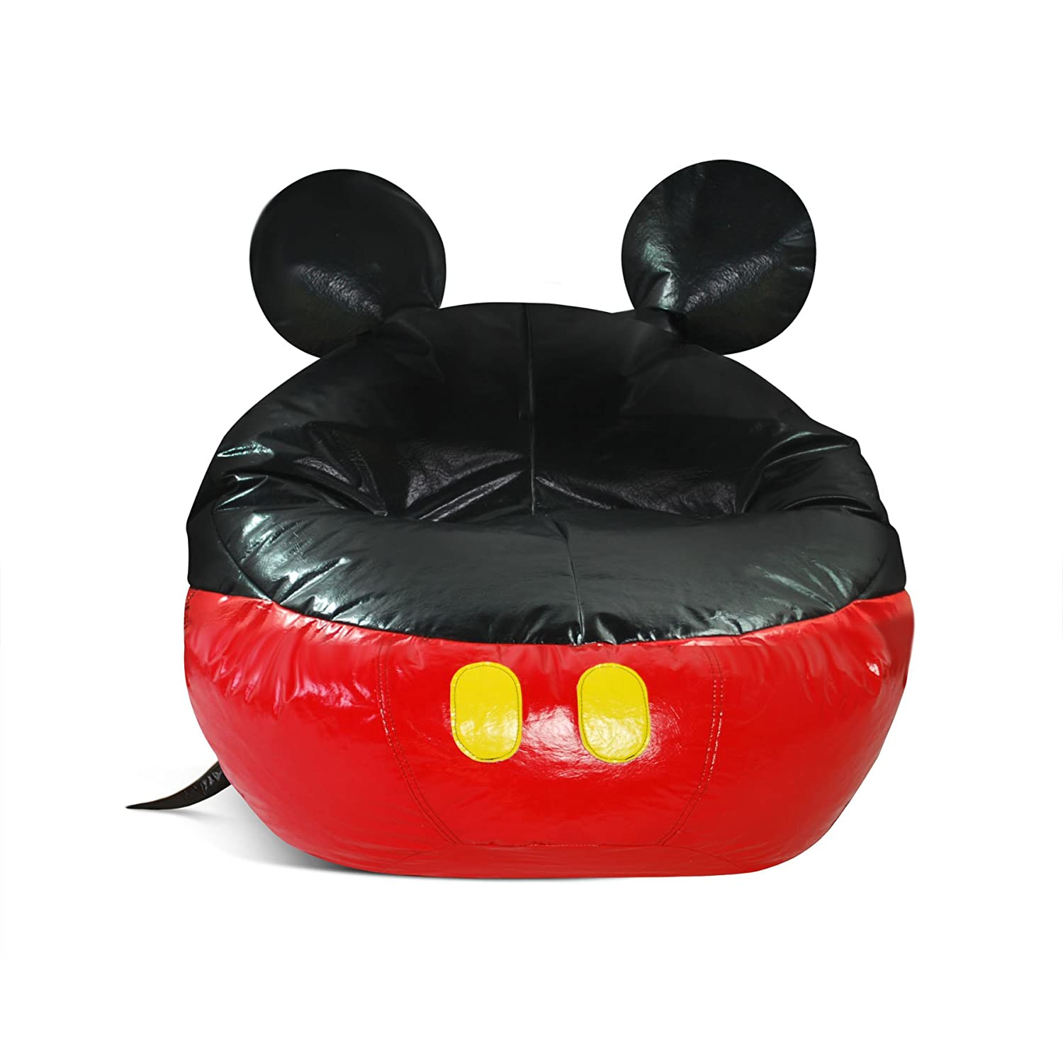 mickey mouse clubhouse bean bag chair grey office chairs furniture totally kids bedrooms