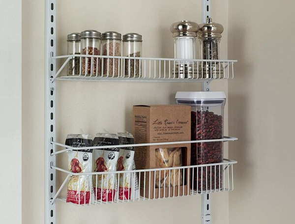 Over the Door Kitchen Pantry Storage Rack