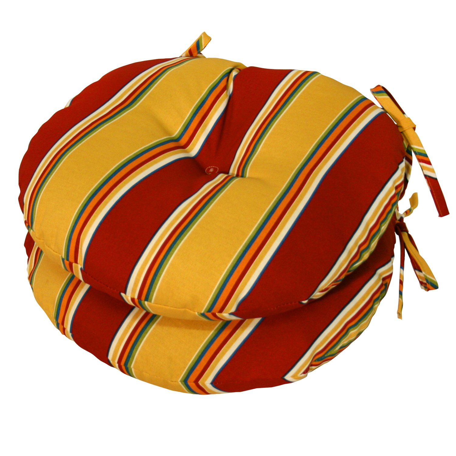Round Patio Chair Cushions Greendale Home Fashions 15 Inch Round Indoor Outdoor