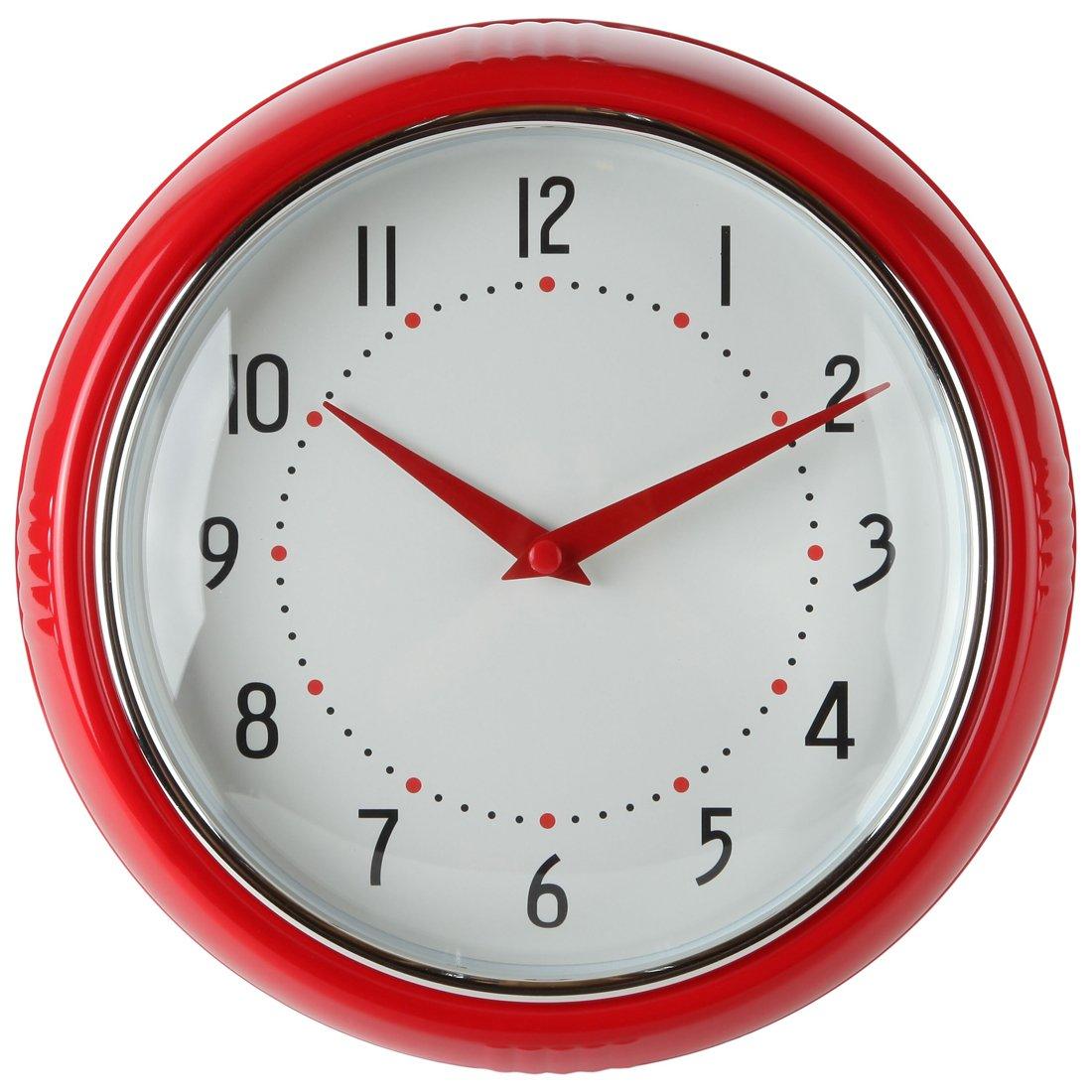retro kitchen wall clock farmhouse tables clocks bing images