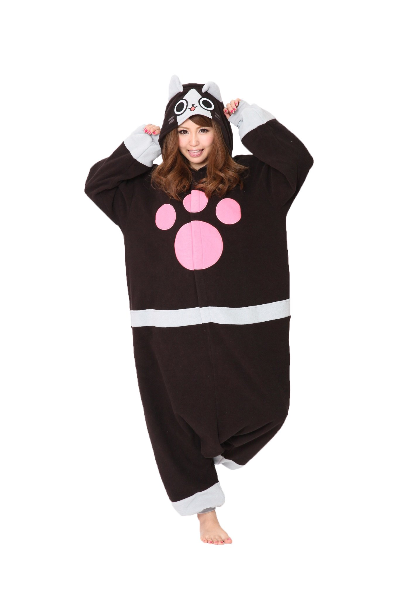 Sazac Monster Hunter by CAPCOM Merarou or Airou hooded pajama