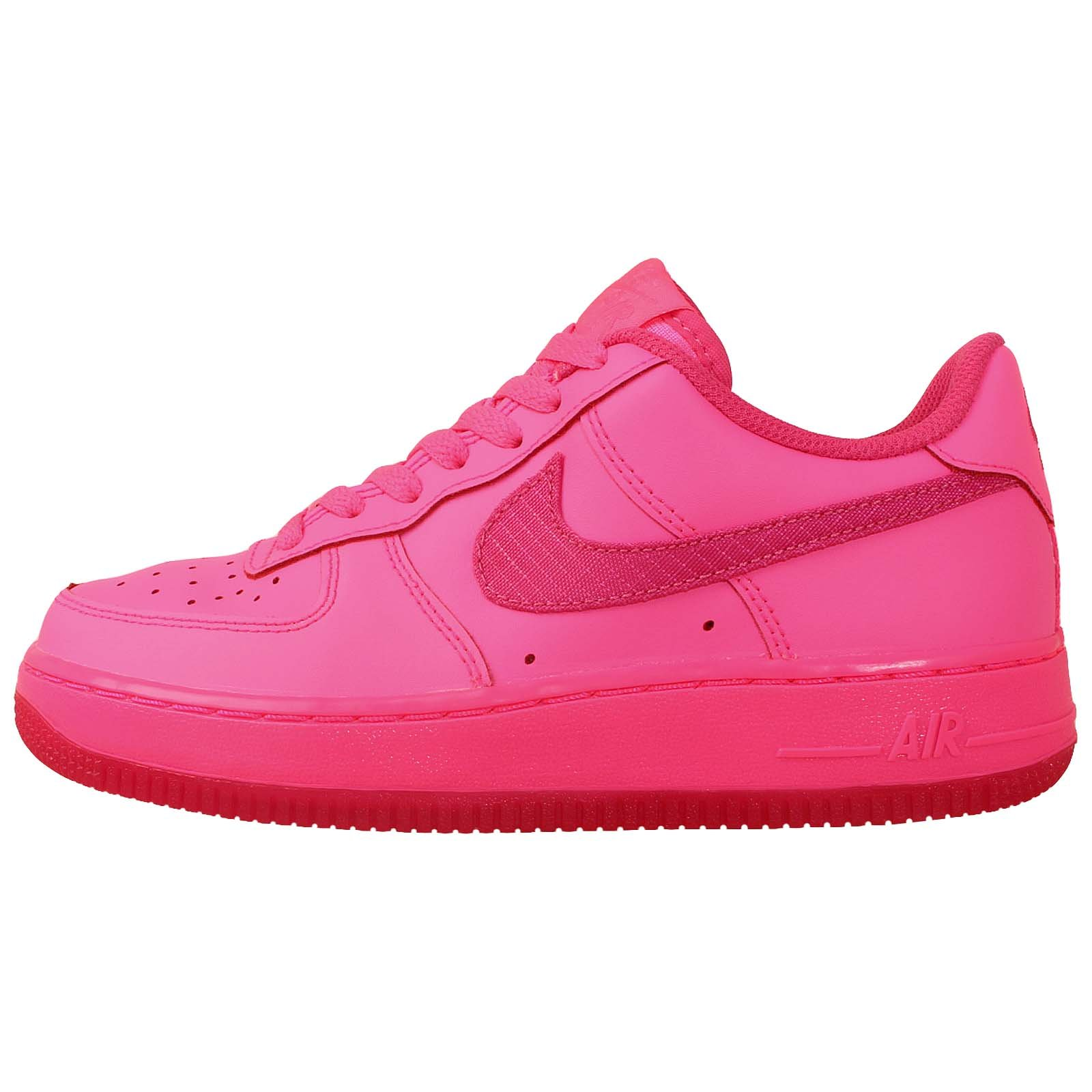 Nike Kid's Air Force 1 GS, HYPER PINK/VIVID PINK