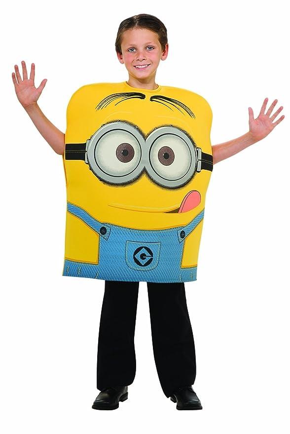 Despicable Me 2 Minion Dave Costume Boys Size Small (6)