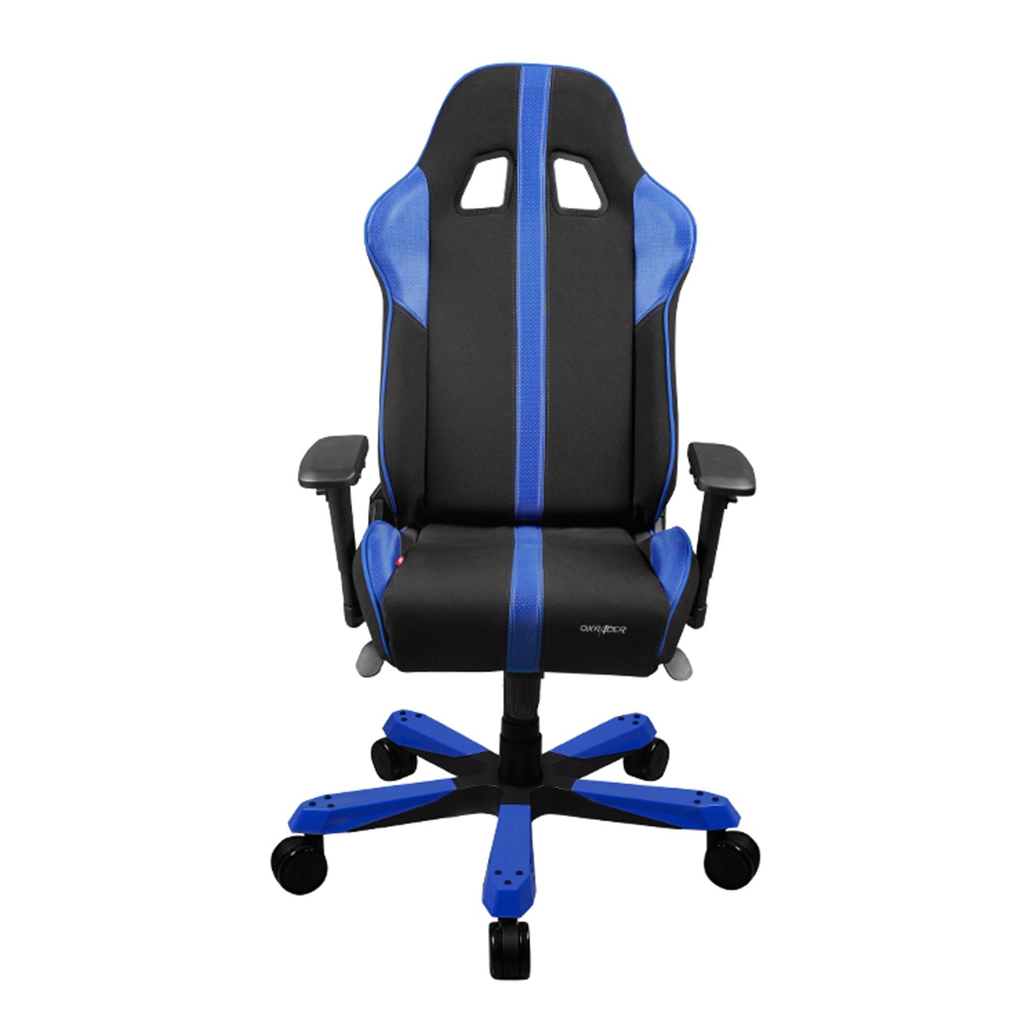 dxracer chair accessories spotlight loose covers galleon kf91 nb black blue king series racing