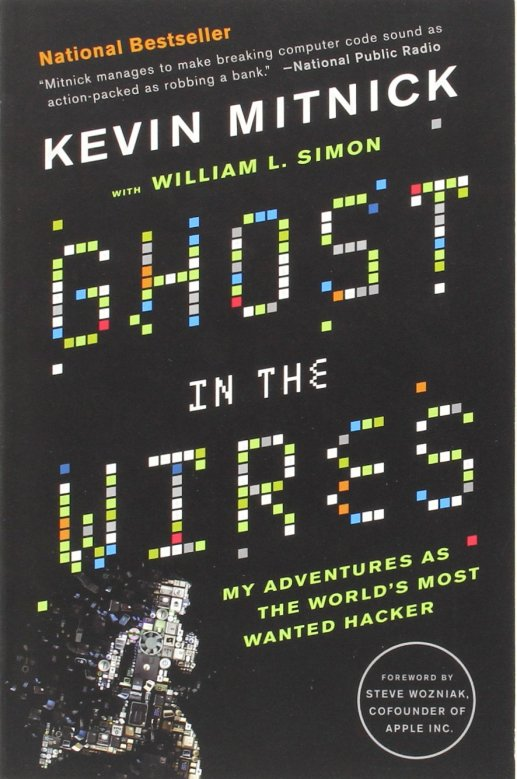 Ghost in the wires - computer hacking book