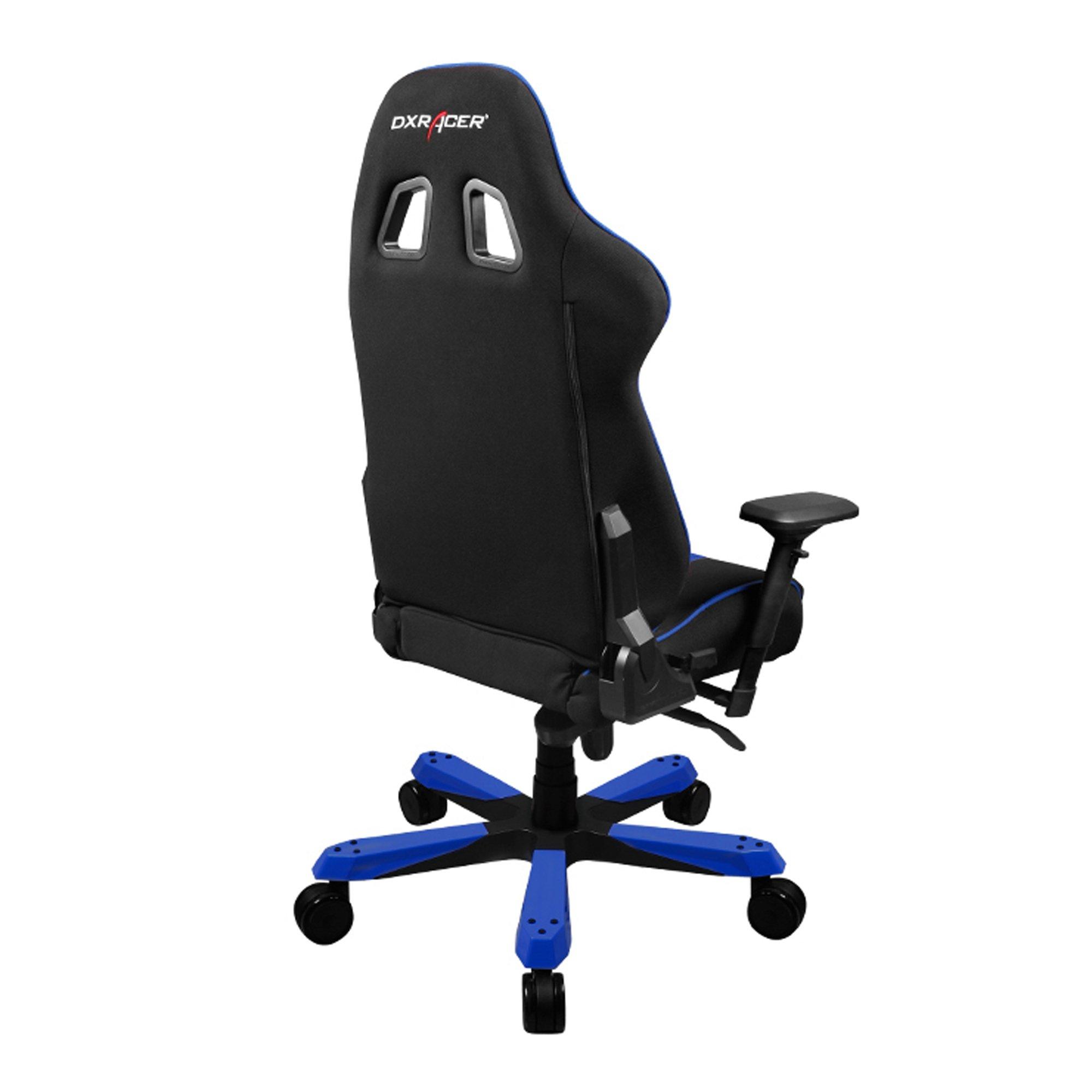 dxracer chair accessories unusual uk galleon kf91 nb black blue king series racing
