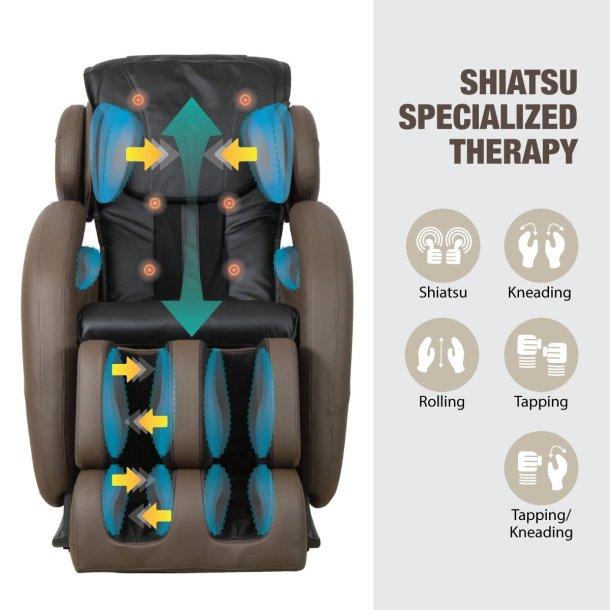 Kahuna massage chair massage functions