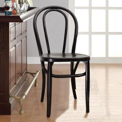 Dining Chair Styles High Chairs Canada Reviews Joveco Vintage Style Solid Wood Set Of 2