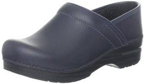 Dansko Women's Professional Oiled Leather Clog,Blueberry,35 EU / 4.5-5 B(M) US