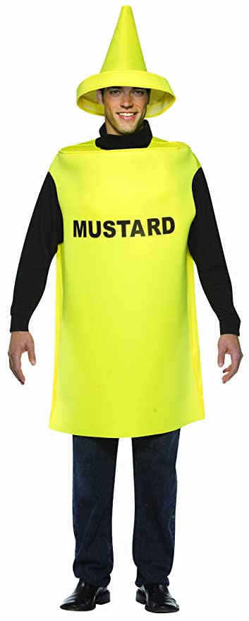 Rasta Imposta Lightweight Mustard Costume, Yellow, One Size