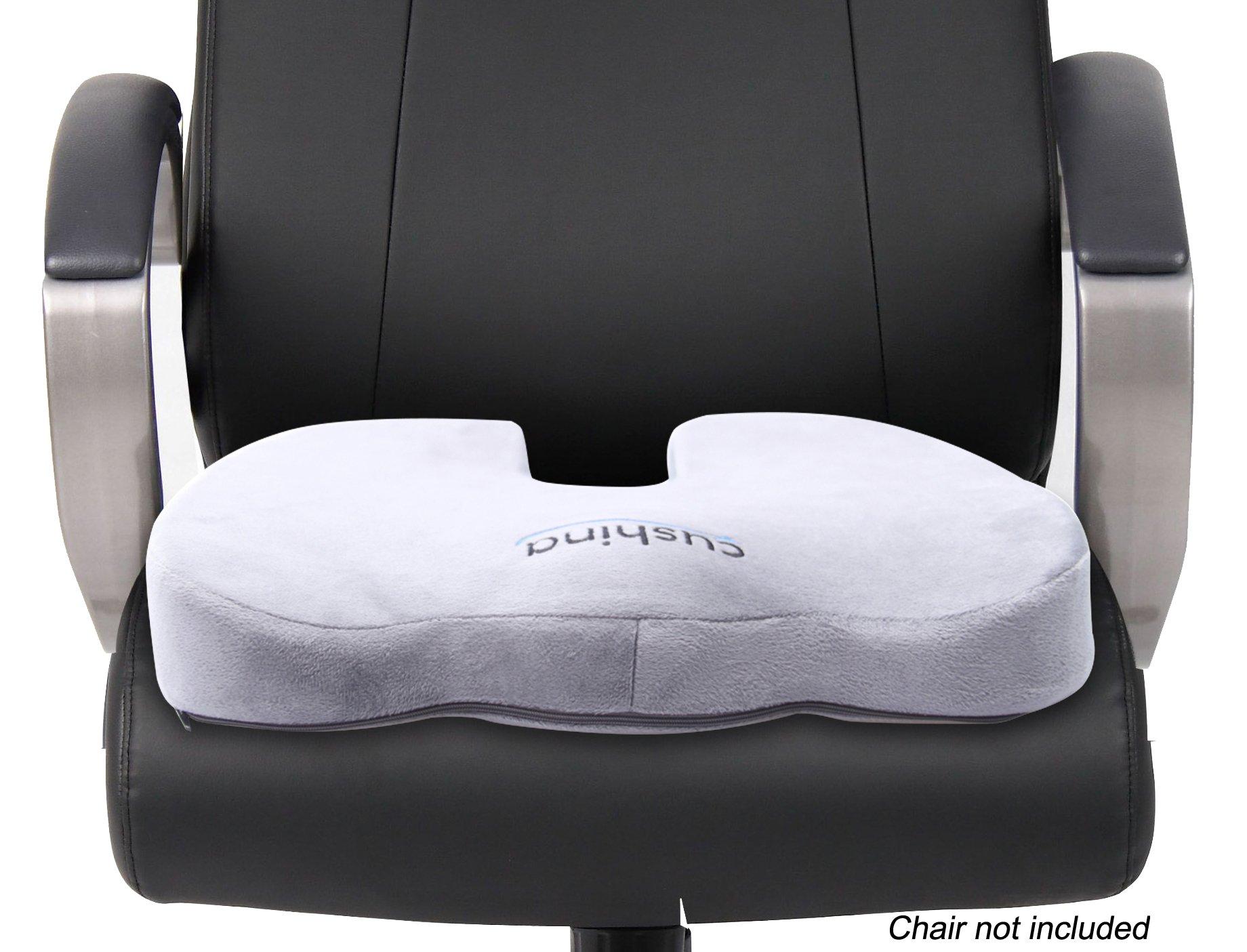 ergonomic chair cushion round lounge chairs for bedroom cushina memory foam seat premium orthopedic